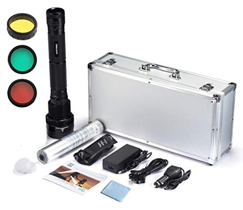 Kit Hid Taschenlampe 85W 2000Meter Abstand-1Akku 8700mAh
