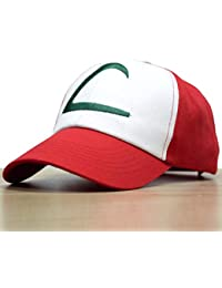 4488207dfbe Nintendo Pokemon Ash Ketchum Cap Embroidered Hat One Size-Style A