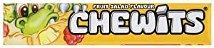 Chewits Fruit Salad Flavour Sweets 30 g (Pack of 40)