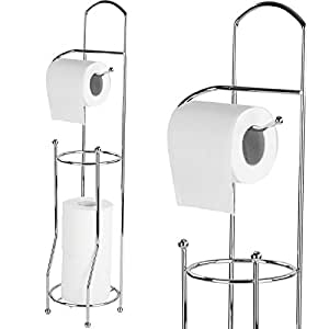 Porta carta bagno portarotoli bagno porta carta igienica porta rotoli bagno fino 4 rotoli in - Toilette da bagno ...
