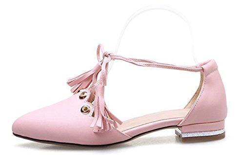 Frangia Elegante Rosa Donna Alla Cinturino Aisun Caviglia Tacchi RSwFSq