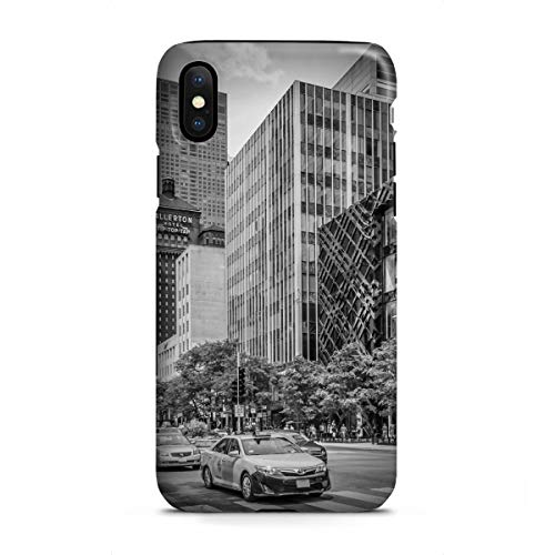 artboxONE Apple iPhone X Tough-Case Handyhülle Chicago North Michigan Avenue von Melanie Viola