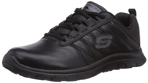 Skechers Flex Appeal pure Tone, Women's Low-Top Sneakers, Black (BBK), 4 UK (37...