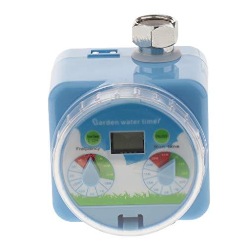 FLAMEER Intelligentes MultiControl Bewaesserungsautomat Bewässerungssystem mit LCD Display, Schnellkupplungssystem (3/4 Zoll Anschluss)