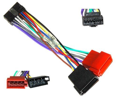 Aerzetix-Z4-Cable adaptador de coche conector ISO Cableado para radio Pioneer-C1784