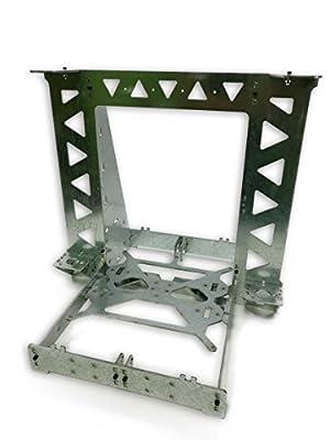 bitbot3d © Struktur Gehäuse Frame P3STEEL. Stahl verzinkt 3mm lasergeschnitten. Montage von P3STEEL Entwicklung 3d Drucker Prusa i3