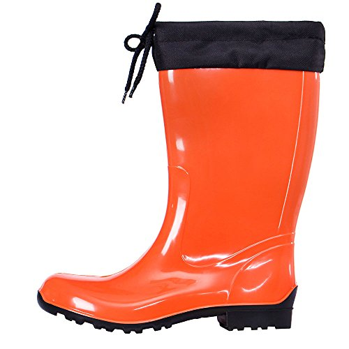Lemigo Rubber Wellington Boots with Calf Sara 968