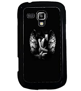PRINTVISA Beautiful Girl with Wings Case Cover for Samsung Galaxy S Duos 2 S7582