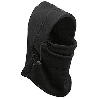 6 in 1 Thermo Fleece Balaclava Hood Polizei Fliegenklatsche Ski Bike Wind Stopper Mask