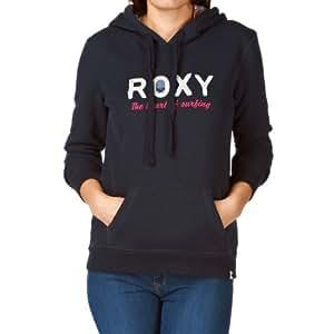 Roxy Damen Sweatshirt Screenline Relax Mix Patch, indigo, XS, WRWSW943AIND-XS