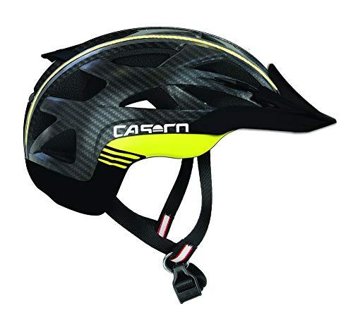 Casco Aktiv-2 L schwarz-neon carbonprint