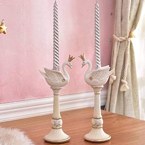 FEE-ZC Weihnachten Kerzenhalter Kerzenhalter Candle Stick Hochzeit Mittelstücke Kerzen Hochzeit Dekoration Candlestick Home Decor,