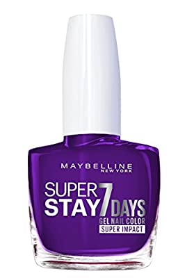 Maybelline Superstay 7 Days Super Impact Nail Color 887 All Day Plum 49g by L'Oreal