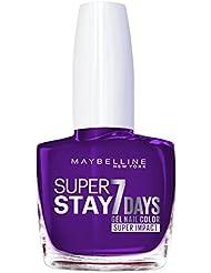 Maybelline Superstay 7jours à ongles super Impact Nombre 887couleur, tous les jour prune 49g