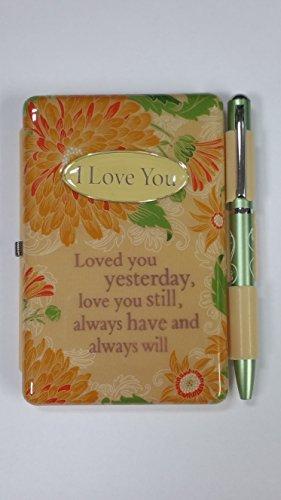 I love you benannt Flip Pads Stift und Pad Geschenk Set mit Charming Linien von Sterling effectz