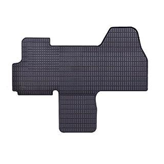 AME Prime - Auto-Gummimatten in schwarz und Wabendesign, Geruch-vermindert und passgenau für Fahrer- und Beifahrerseite 846/1C