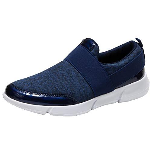 Sneaker Damen Laufschuhe Weiche Turnschuhe Slipper Atmungsaktiv Sportschuhe Loafers Freizeitschuhe Outdoor Schuhe Sneaker Frauen Flache Schuhe,ABsoar