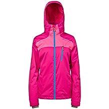 Protesta de la mujer Brianna nieve chaquetas, mujer, color Peoney Rose, tamaño X-Small/Size 34