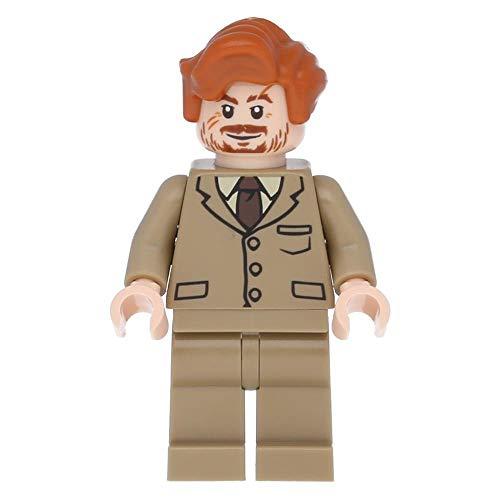 LEGO Harry Potter - Minifigur Professor Lupin - dunkel beiger Anzug