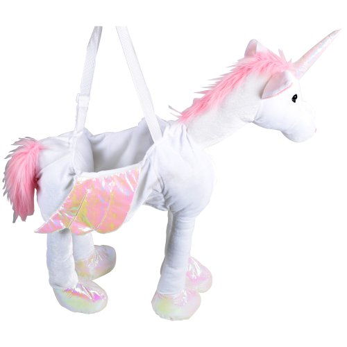 Childrens Fancy Dress Halloween Costume Ride on Unicorn