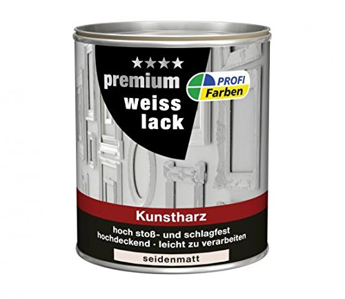 Kunstharz-Weißlack  <strong>Verarbeitungstemperatur</strong>   Ab 5 °C