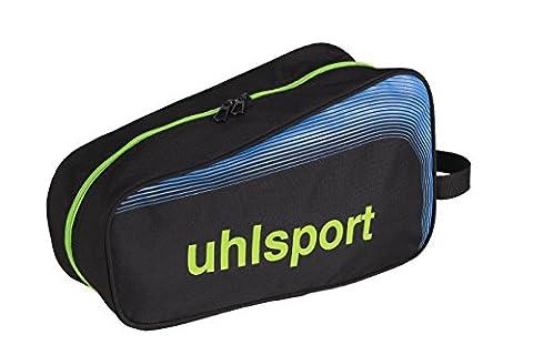 Uhlsport Goalkeeper Equipment Bag Sac Banane Sport, 34 cm, Noir/Bleu/Vert