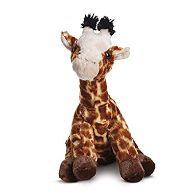 Aurora World 19265 Destination Nation Giraffe Plush Toy (Brown/Orange/Peach)