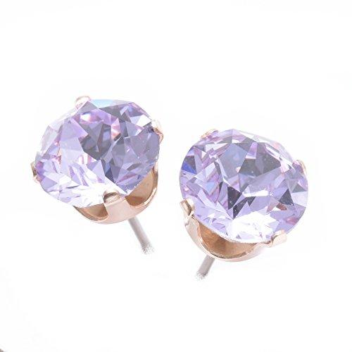 9-mm-rose-gold-ohrstecker-fachmannisch-hergestellt-mit-violett-kristall-von-swarovskir