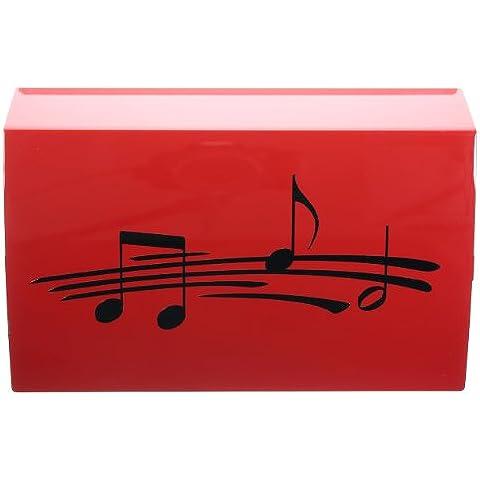 Decorativo lini Sticker note musicali per auto,