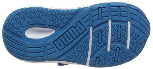 Puma Axis V4 Mesh V Inf, Scarpe da Ginnastica Basse Unisex – Bambini Blu (Blue Danube-true Blue 05)