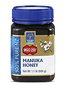 Manuka Health Aktiver - Honig MGO 250 plus Original, 1er Pack (1 x 500 g)