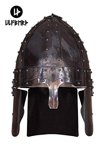 Ulfberth Helm aus Stahl Spätrömischer Spangenhelm Deir EL-Medina - Re-Enactment Größe - Reenactment Römischen Kostüm