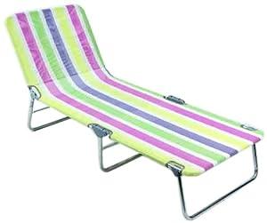 Alco - Cama Playa Aluminio Fibreline Rayas Colores 26 1-106026