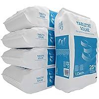 5 bag Siedesalz Tabletten - Regeneriesalz 25kg = 125 kg Water Softener Salt Tablets - Salztabletten zur Regenerierung von Wasserenthärtungsanlagen