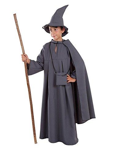 Imagen de disfraz de mago gris para niño  único, 11 a 13 años