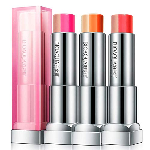 NOTE 2019 Fashion Lips Beauty Women 3 in 1 Colors Moisturizer Korean Gradient Lips Beauty Makeup Lipstick maquiagem Lip Stick