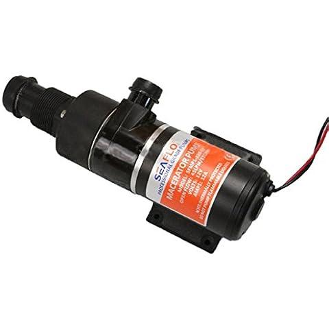 Latinaric Macerator acque reflue pompa 12 GPM Per RV Marine rifiuti DC igienici - Rv Serbatoio