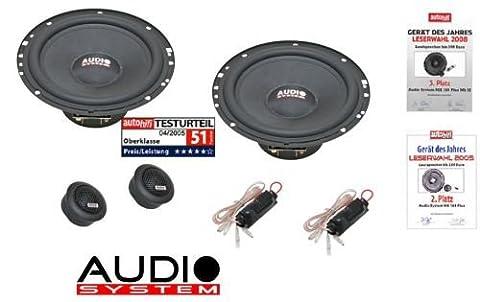 Audio system m plus haut-parleurs 165 16,5 cm pour seat ibiza (type 6L modèles 2002–2008)