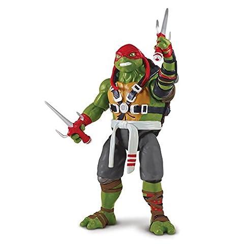 Teenage Mutant Ninja Turtles 2 Deluxe Talking Figure Raphael