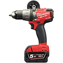 Milwaukee M18 FPD-502X – Atornillador Fuel m18fpd Plus HD Caja de 2 x 18 V/5,0 AH, ion de litio, 1 pieza, 4933451061