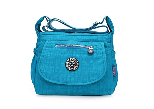 A&N, Borsa a mano donna Medium Blue