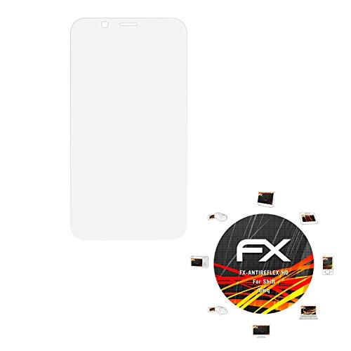 atFolix Schutzfolie kompatibel mit Shift 6mq Bildschirmschutzfolie, HD-Entspiegelung FX Folie (3X)