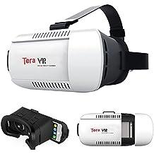 """Tera VR Box - Gafas 3D para smartphones entre 4.7"""" - 6.0"""", color blanco"""