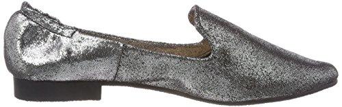 Buffalo Damen 327602 ZM Zqdl 24# Geschlossene Ballerinas Grau (Pewter)