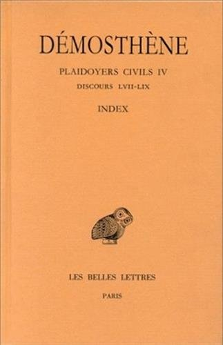 Plaidoyers civils, tome 4 : Discours 62-70