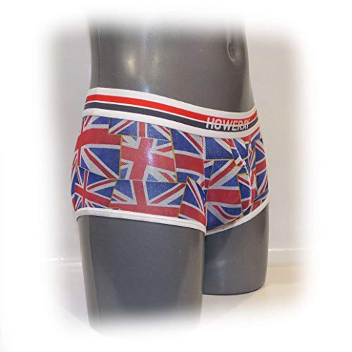 Mens Pants bulge pouch Slip Union Jack Size:XL -