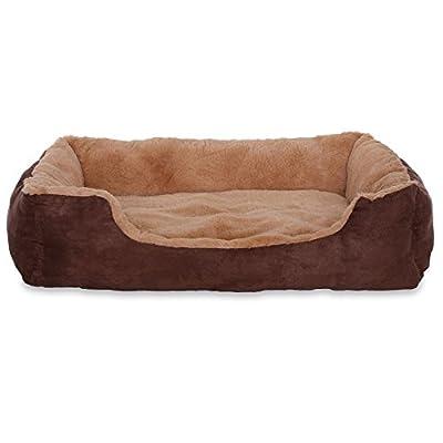 Cama para perros–Perros Cojín–Perros sofá con cojín Reversible (tamaño y color a elegir)