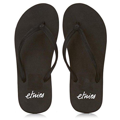 Etnies  CHULA III,  Sandali da spiaggia/piscina donna black silver