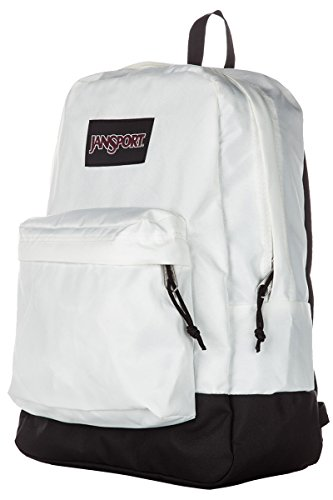 Mochila Superbreak Jansport Black Label, blanco