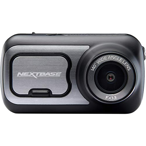 Nextbase 422GW - Series 2 Car Dash Camera - Full 1440p/30fps HD Recording DVR Cam - Front Recording - 140° Wide Viewing Angle - Wi-Fi and Bluetooth - Built-in Alexa - GPS - Black